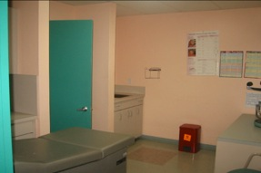 medical office with exam rooms miami